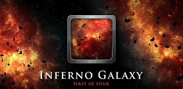 Inferno Galaxy и Thunderstorm live - живые обои пекло и шторм