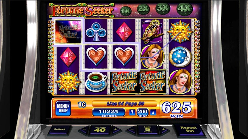 Fortune Seeker HD Slot Machine Screenshot