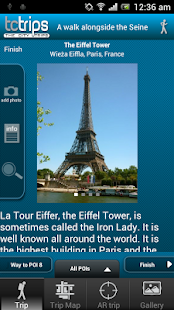 TcTrips Paris - screenshot thumbnail