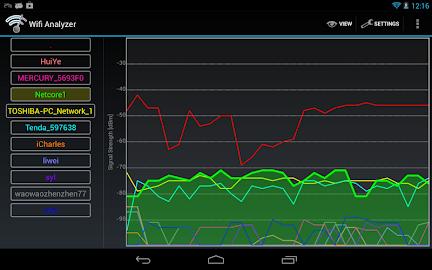 Wifi Analyzer Screenshot 12