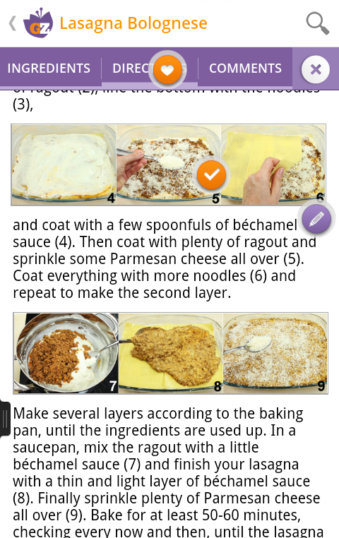 GialloZafferano Recipes - screenshot