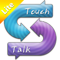 Real-time translator-TouchTalk logo