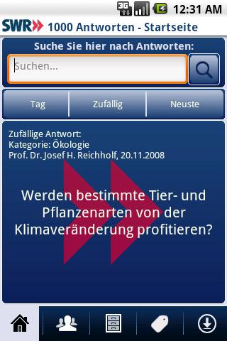 1000 Antworten - screenshot
