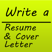 Write a Resume & Cover Letter