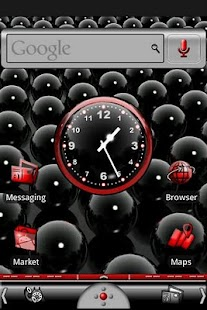 Red & Black Theme - screenshot thumbnail