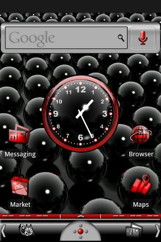 Red & Black Theme - screenshot