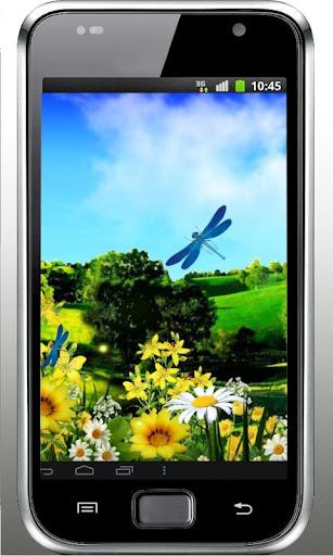 Dragonflies HD live wallpaper