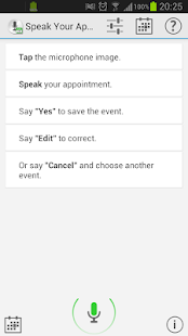 Speak Your Appointment (Trial) - screenshot thumbnail
