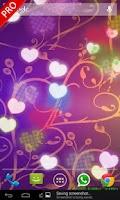 Screenshot of Hearts Live Wallpaper