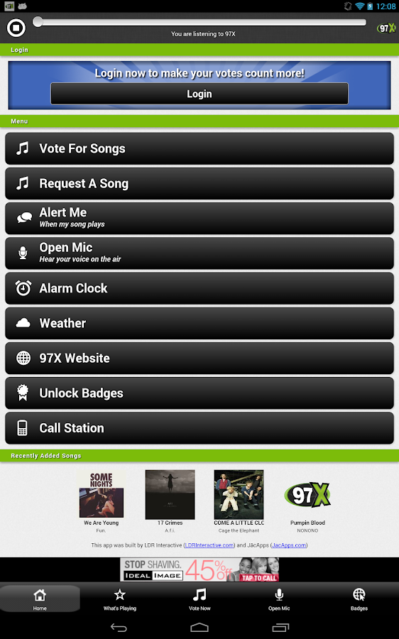 97X You Control The Music - screenshot