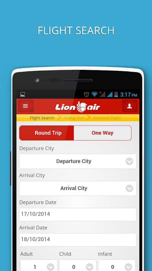 Lion Air- screenshot