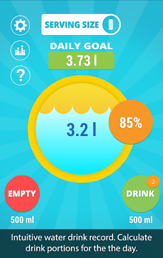 Aqualert:水饮用提醒者H2O