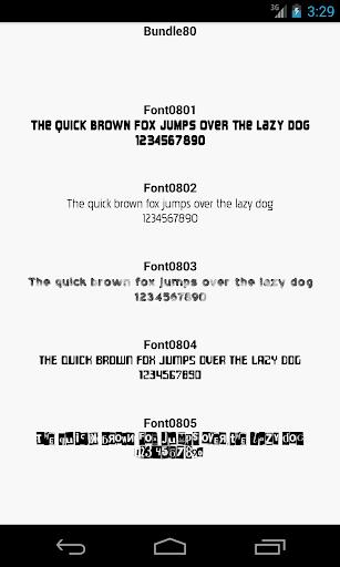 【免費個人化App】Fonts for FlipFont 80-APP點子