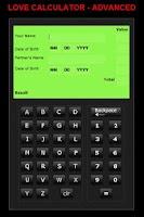 Screenshot of Love Calculator - Pro