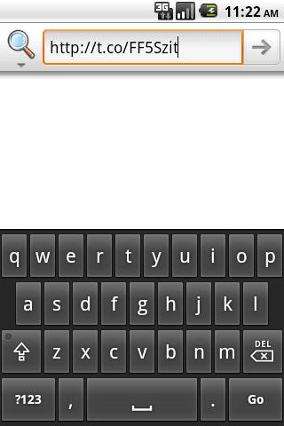 t.co redirector- screenshot