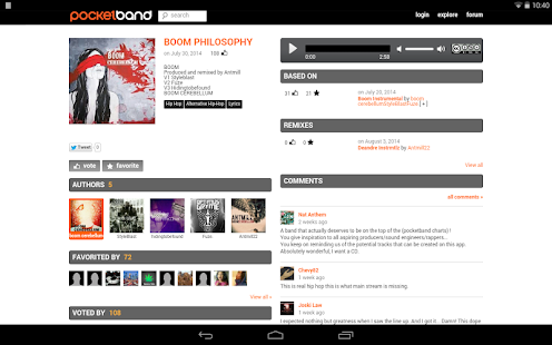 PocketBand - Social DAW - screenshot thumbnail