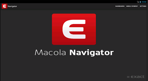 Exact Macola Mobile Navigator