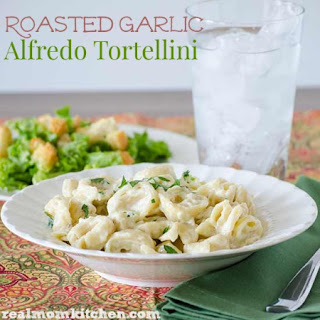 Roasted Garlic Alfredo Tortellini