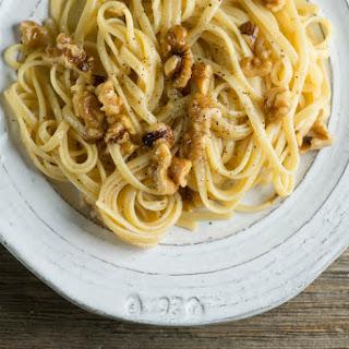 Brown Butter Walnut Pasta.