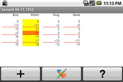 Super Scorepad- screenshot