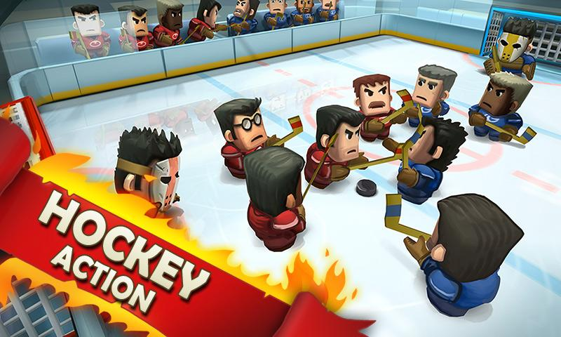 Ice Rage: Hockey Free - screenshot