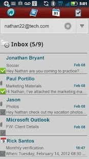 Hotmail ActiveSync Phone - screenshot thumbnail