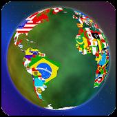 World Flag Globe LiveWallpaper