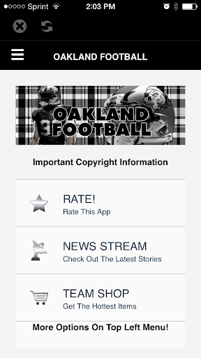 Oakland Football STREAM+