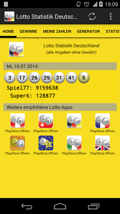 lotto in deutschland