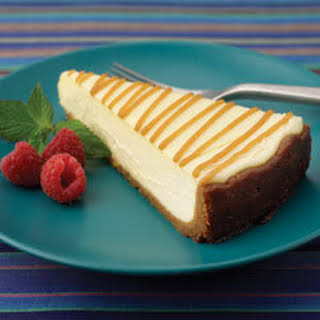 Ny-style Cheesecake With Peanutty Crust.