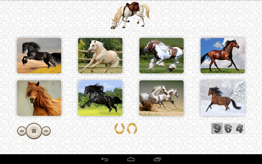 Horses Jigsaw Puzzles game