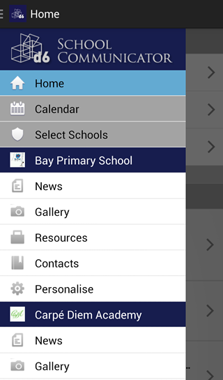 D6 School Communicator - screenshot