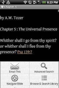 Christian Bible Library- screenshot thumbnail