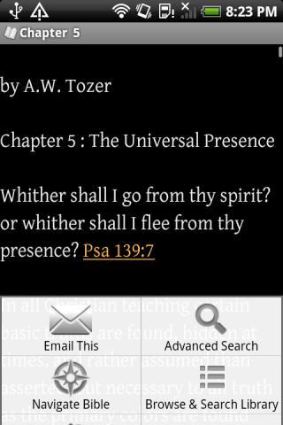 Christian Bible Library- screenshot