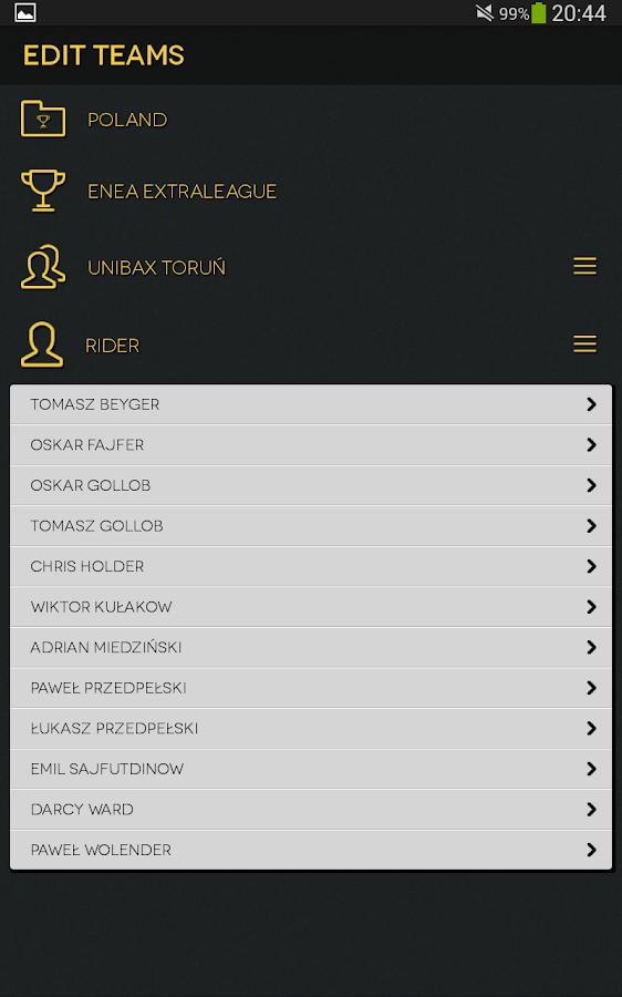 Speedway Programme- screenshot