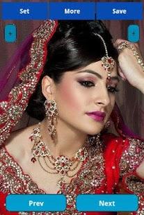 Indian Bride Makeup Wallpapers Screenshot Thumbnail