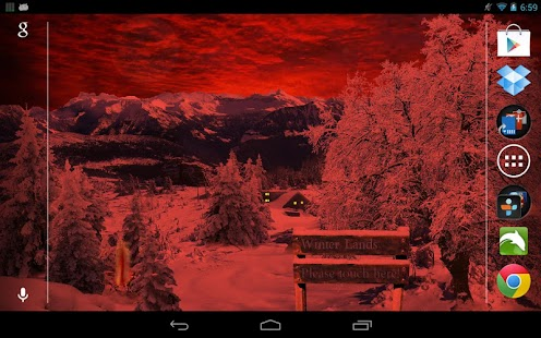 Winter Snow Live Wallpaper Pro - screenshot thumbnail