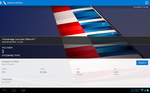 American Airlines 5.8.1 screenshots 7