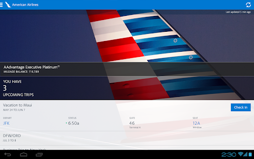American Airlines- screenshot thumbnail