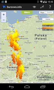 Burzowo.info (lightning map)- screenshot thumbnail