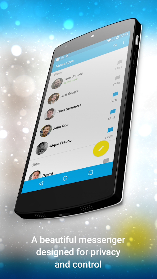 Ansa Messenger - screenshot
