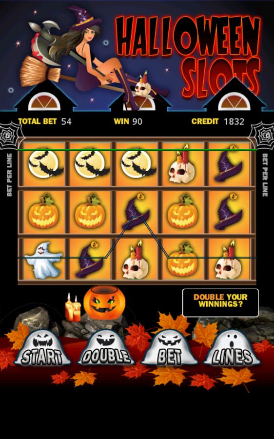 halloween slot machine game
