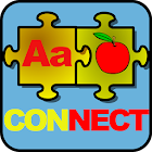 Alphabet and Numbers Connect icon