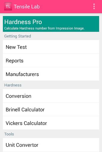 Tensile Lab Hardness Calc