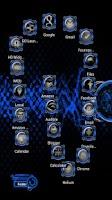 Screenshot of Bionic Launcher Theme Blue