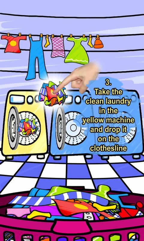 Wash Machine Free - screenshot