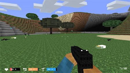 Cube Gun 3D : Zombie Island 1.0 screenshot 44156