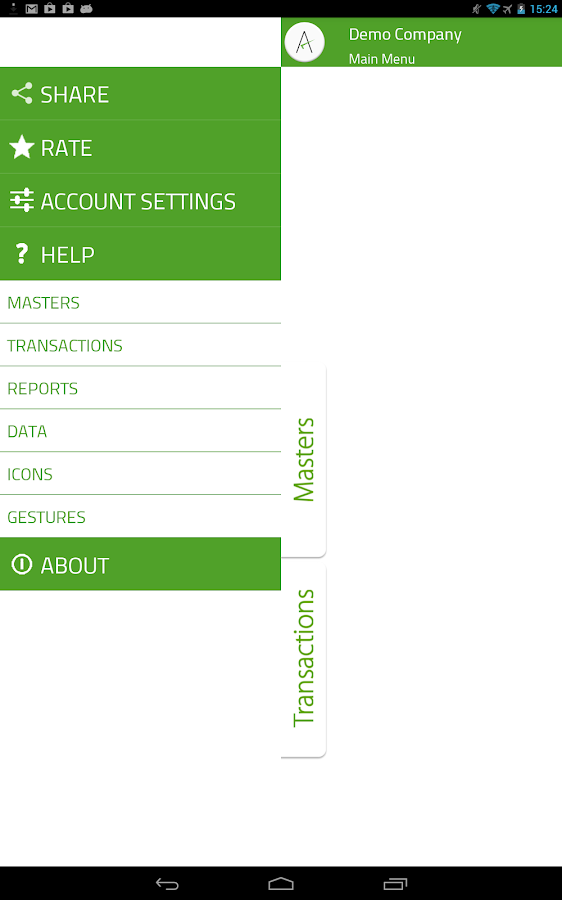 mAccounts Mobile Accounting - screenshot