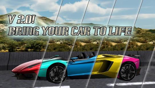 Supercar 3D Live Wallpaper LWP