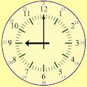 Read a clock icon